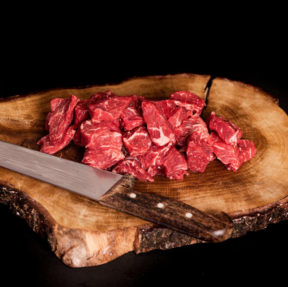 Carne guisar Ternera de Caserio